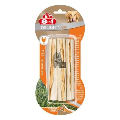 8in1 Delights Sticks de galinha