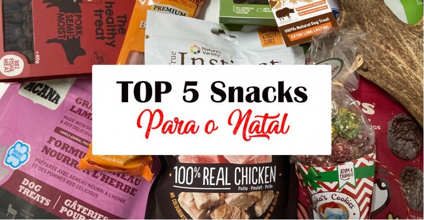 TOP 5 de snacks para a noite de Natal