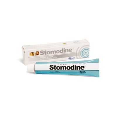 Stomodine gel para as gengivas