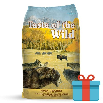 Taste of the Wild High Prairie Bisonte e Veado