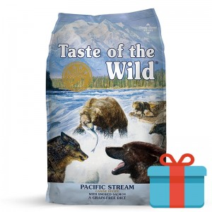 Taste of the Wild Pacific Stream Salmão