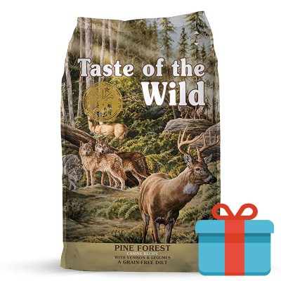 Taste of the Wild Pine Forest Veado e Legumes