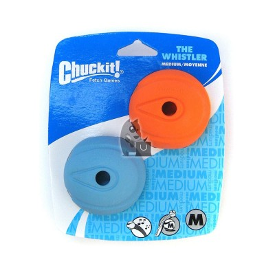 Chuckit pacote de 2 Bolas Whistler