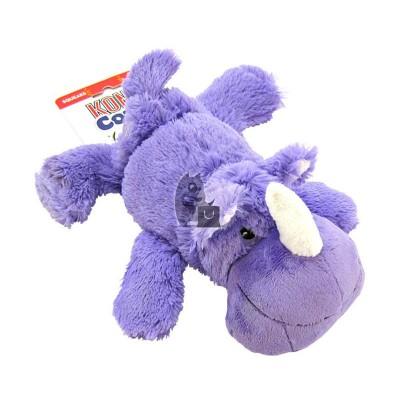 Kong Cozies Brights Peluche Rinoceronte Rosie
