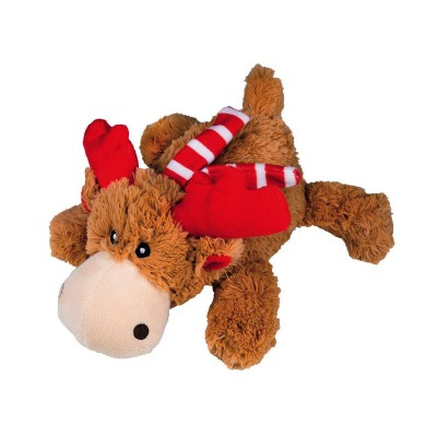 Kong Holiday Cozies Naturals Peluche Alce Marvin NATAL