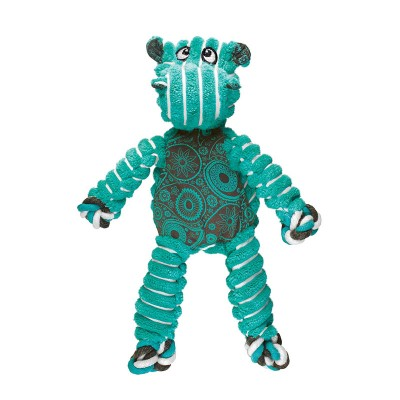 Kong Floppy Knots Hipopótamo