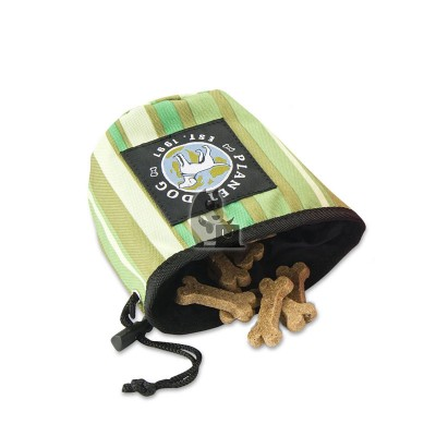Planet Dog bolsa Snack Sack Forest Green
