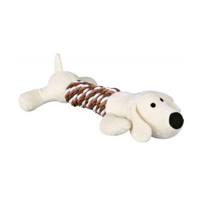 Trixie Peluche Cão com corpo de corda
