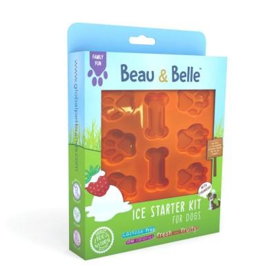 Beau & Belle Ice Cream Kit for Dogs Gelado Morango