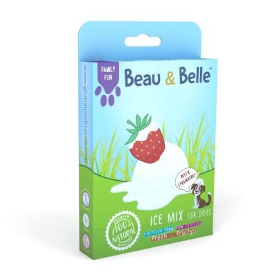 Beau & Belle Mistura para gelado de morango