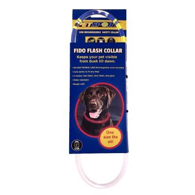 Petsport Colar de iluminação LED USB