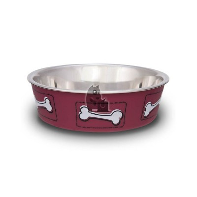 Loving Pets Comedouro Bella Coastal Hawaiian Red
