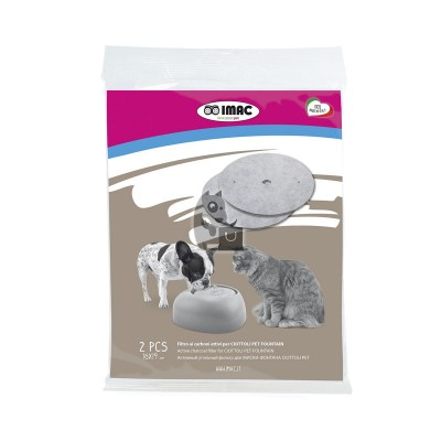 Imac Filtros para fonte Pet Fountain (2unid)
