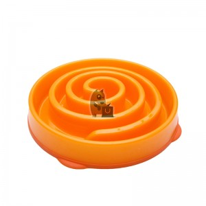 Dog Games Comedouro Slo-Bowl Coral