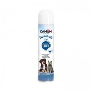 Camon spray desodorizante talco