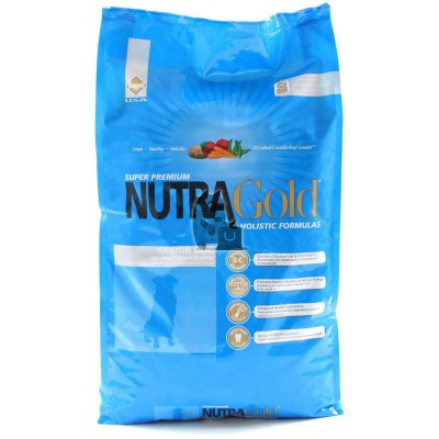 Nutra Gold Holistic Senior Dog