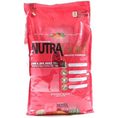 Nutra Gold Holistic Lamb Rice Adult