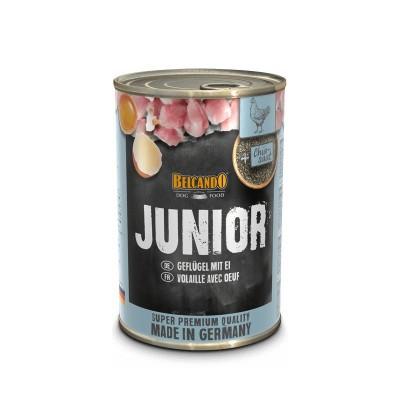 Belcando Super Premium Junior com Aves e Ovos