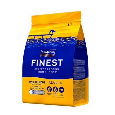 Fish4Dogs Finest Adult Ocean White Fish