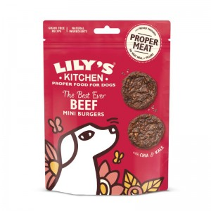 Lilys Kitchen Snacks The Best Ever Beef Mini Burgers