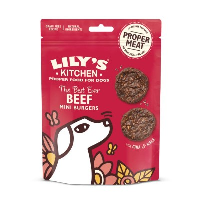 Lily's Kitchen Snacks The Best Ever Beef Mini Burgers
