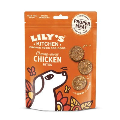 Lily's Kitchen Snacks Chomp-Away Chicken Bites