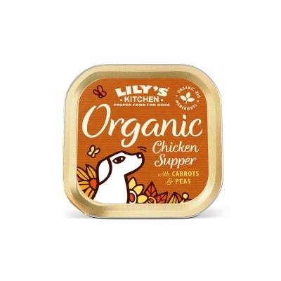 Lilys Kitchen Terrina Organic Chicken Supper