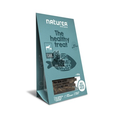 Naturea Treats semi-húmidos peixe