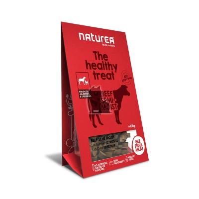 Naturea Treats semi-húmidos vaca
