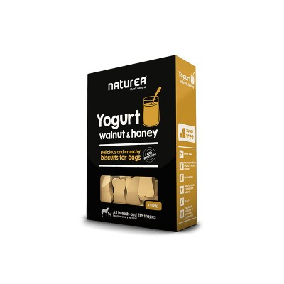 Naturea Biscoitos de Iogurte, nozes e mel