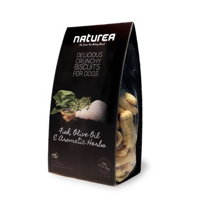 Naturea Biscoitos de Peixe, azeite e ervas aromáticas