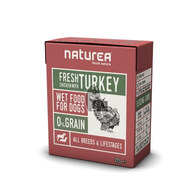 Naturea Wetfood Grain Free Galinha com Perú