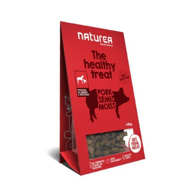 Naturea Treats semi-húmidos porco