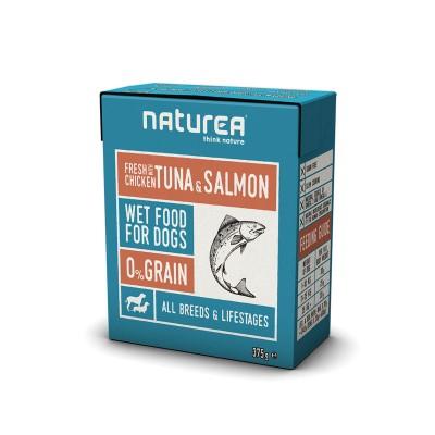 Naturea Wetfood Grain Free Galinha, Atum e Salmão