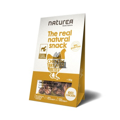 Naturea Snacks de peito de galinha