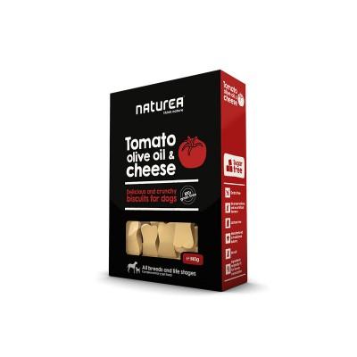 Naturea Biscoitos de Tomate, Azeite e Queijo parmesão