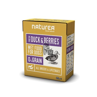 Naturea Wetfood Grain Free Pato e Mirtilos