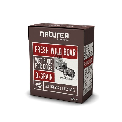 Naturea Wetfood Grain Free Javali