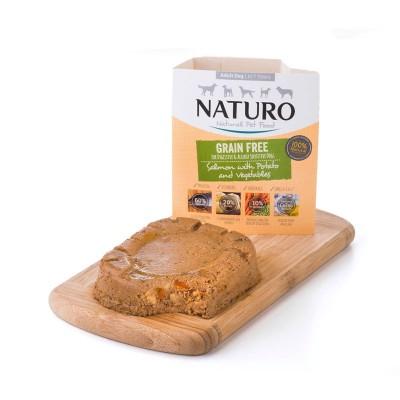 Naturo Adult GRAIN FREE Salmão e Batatas com Vegetais 400g