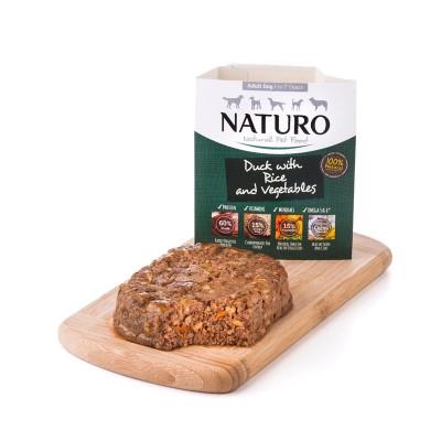 Naturo Adulto Pato com Arroz integral e Vegetais 400g