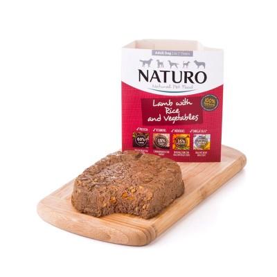 Naturo Adulto Cordeiro com Arroz e Vegetais 400g