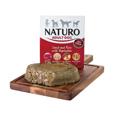 Naturo Adulto Cordeiro com Arroz integrais e Vegetais 400g