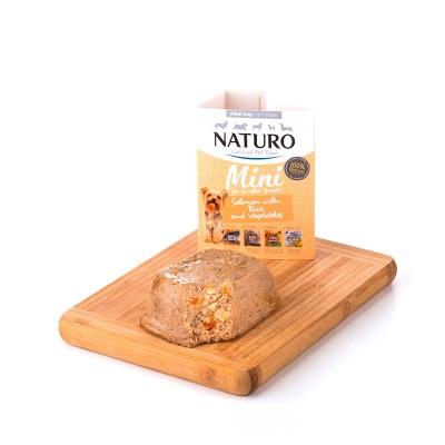 Naturo Adult MINI Salmão e Arroz com Vegetais 150g