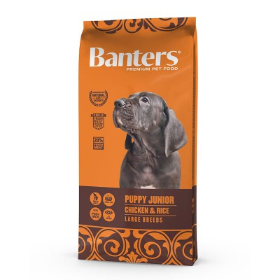 Banters Puppy Large Breed Chicken&Rice