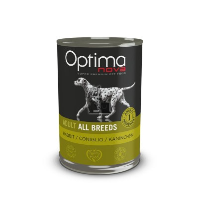 Optima Nova Wet Grain Free Coelho