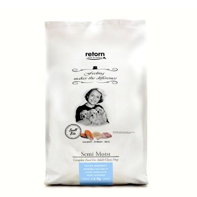 Retorn Semi-Húmido Natural Salmão