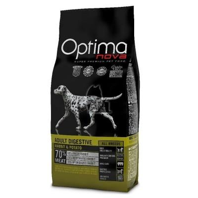 Optima Nova Adult Digestive Coelho & Batata