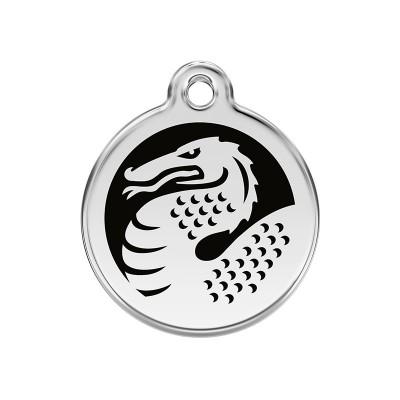 Red Dingo Medalha Dragão preto