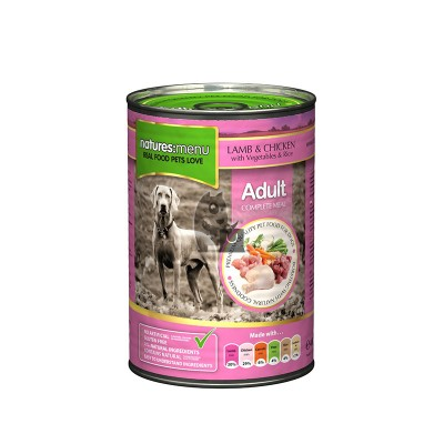 Natures Menu Lata Borrego com Galinha 400g