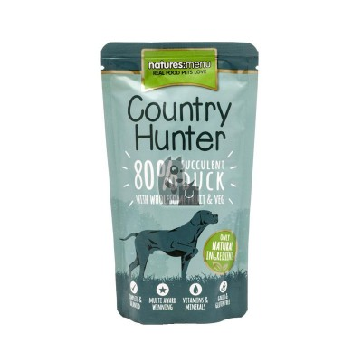 Natures Menu Saqueta Country Hunter Pato